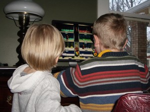 Kids Playing Computer Games